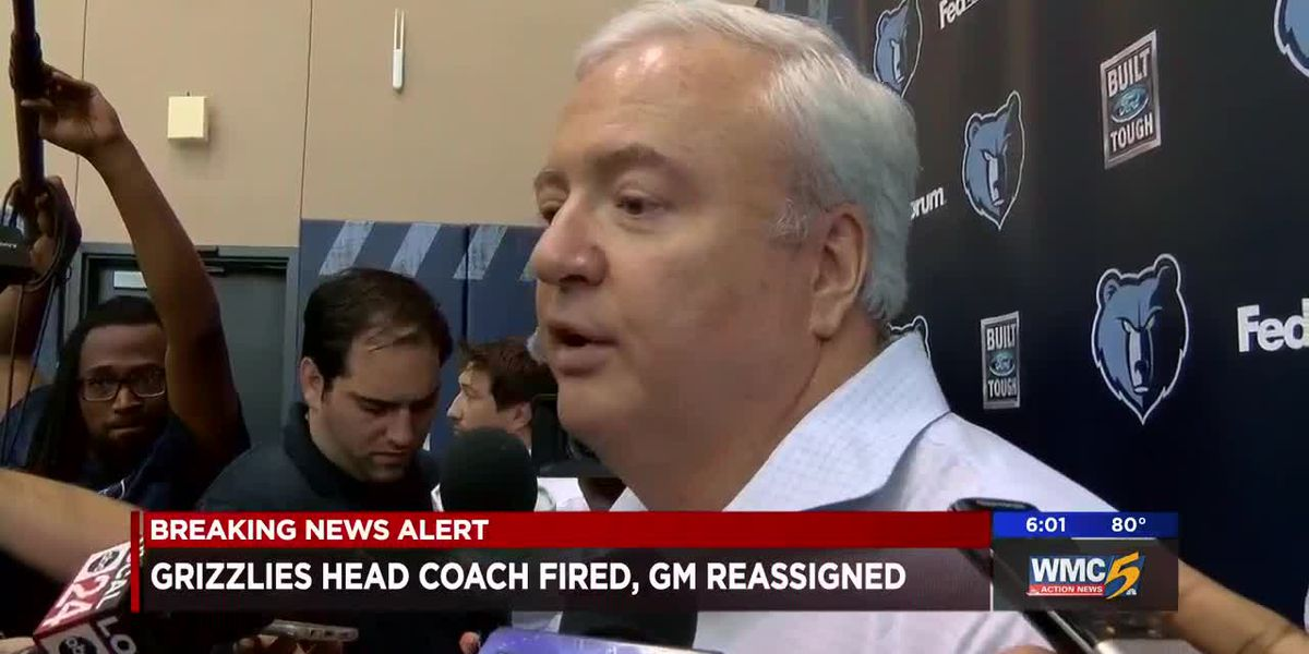 Grizzlies head coach fired, GM reassigned