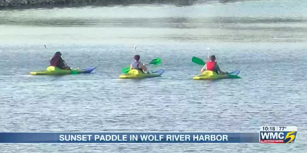MRPP provides free kayaks for 'sunset paddle' in Wolf River Harbor