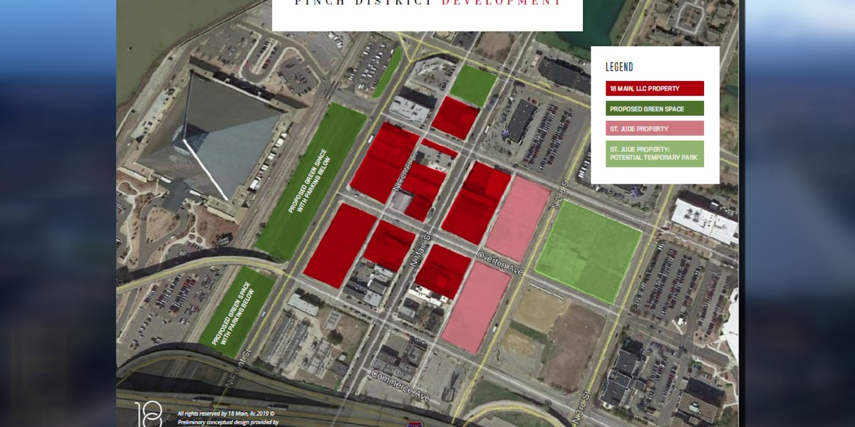 $1.1B development plan revealed for the Pinch District