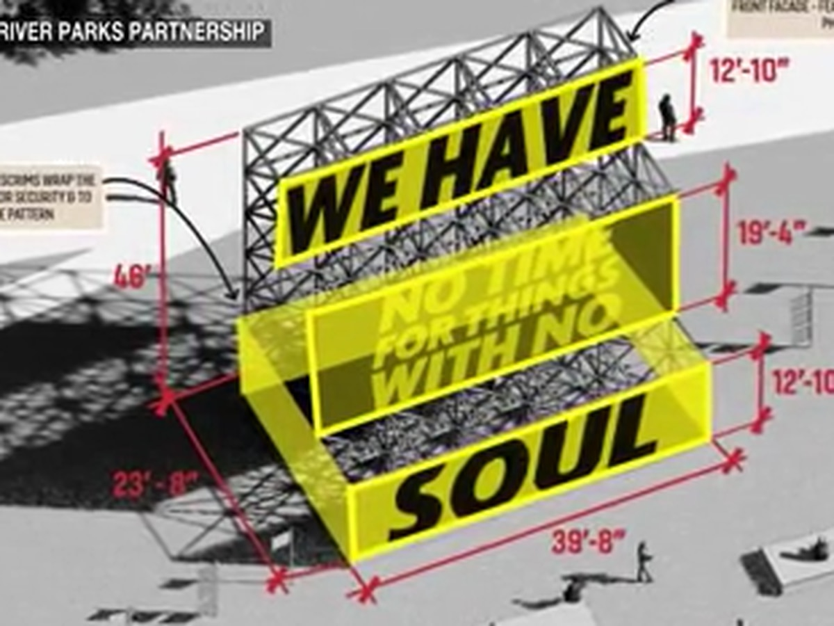 Temporary 'We Have Soul' billboard proposed for Mud Island