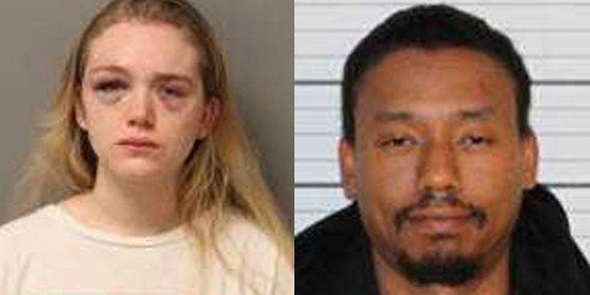 Couple arrested on drug, domestic assault charges