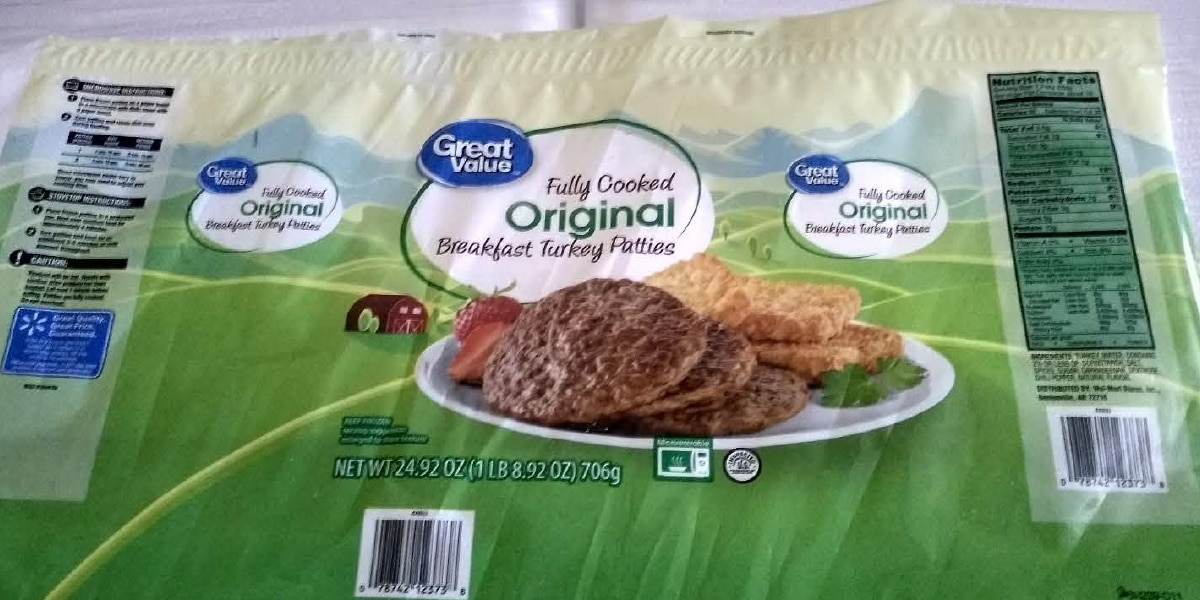 Possible Salmonella contamination sparks recall of Great Value breakfast sausage