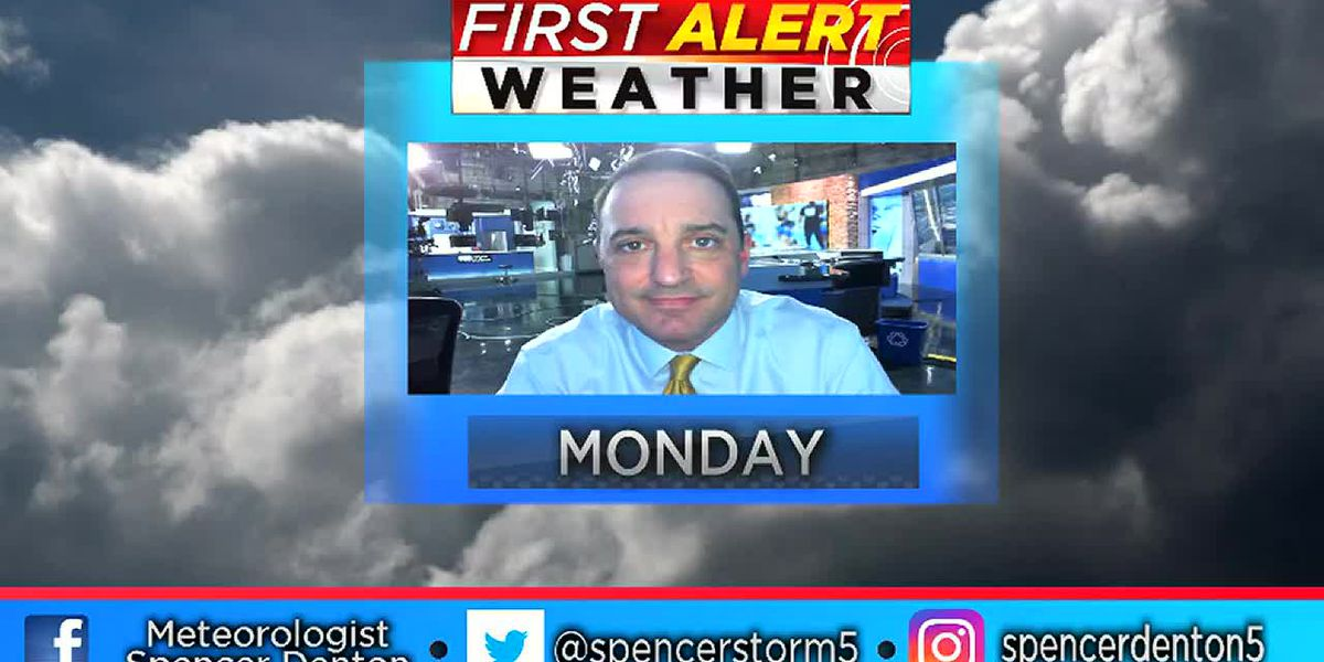Spencer's Monday Afternoon Forecast