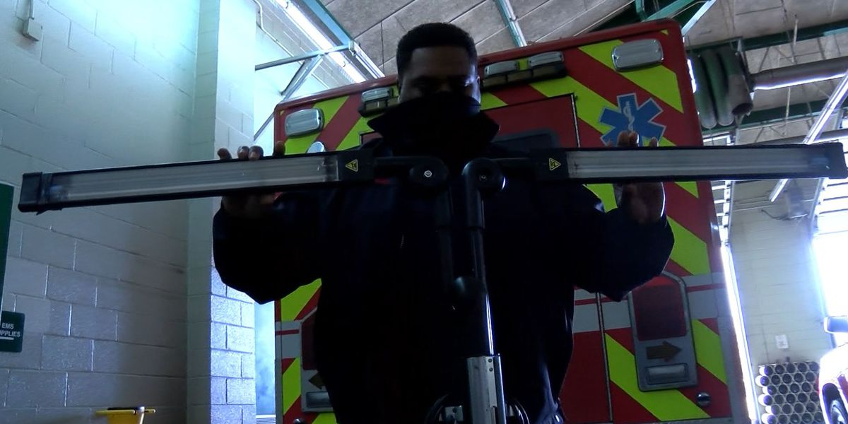 MFD using new ultraviolet tool to fight the spread of COVID-19