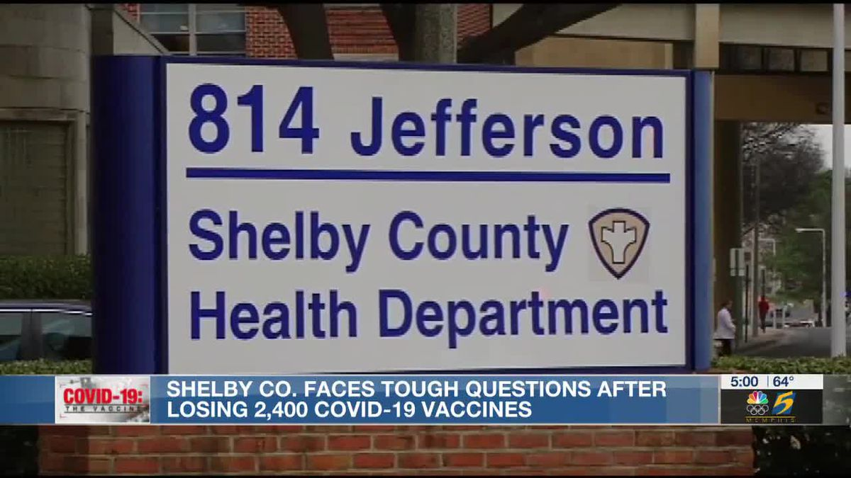 "State says Shelby County's stockpiling of vaccines ""another significant violation"" of vaccine management"