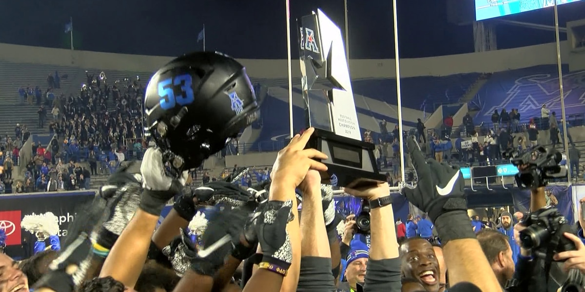 Memphis wins third AAC West title