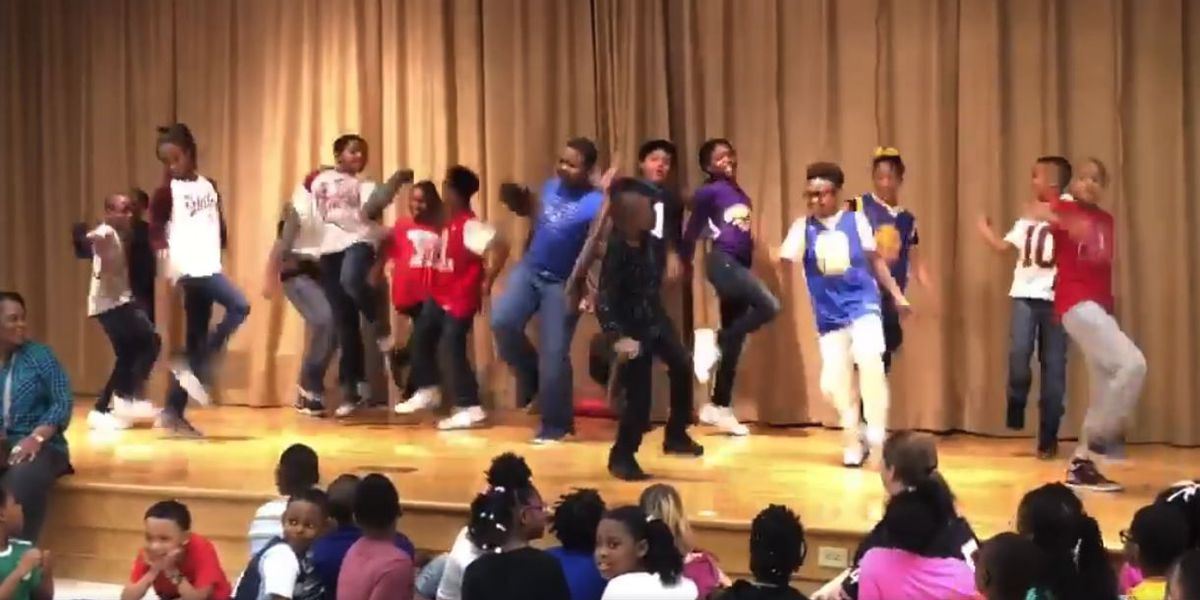4th-graders break out 'TN Ready Rap' at pep rally