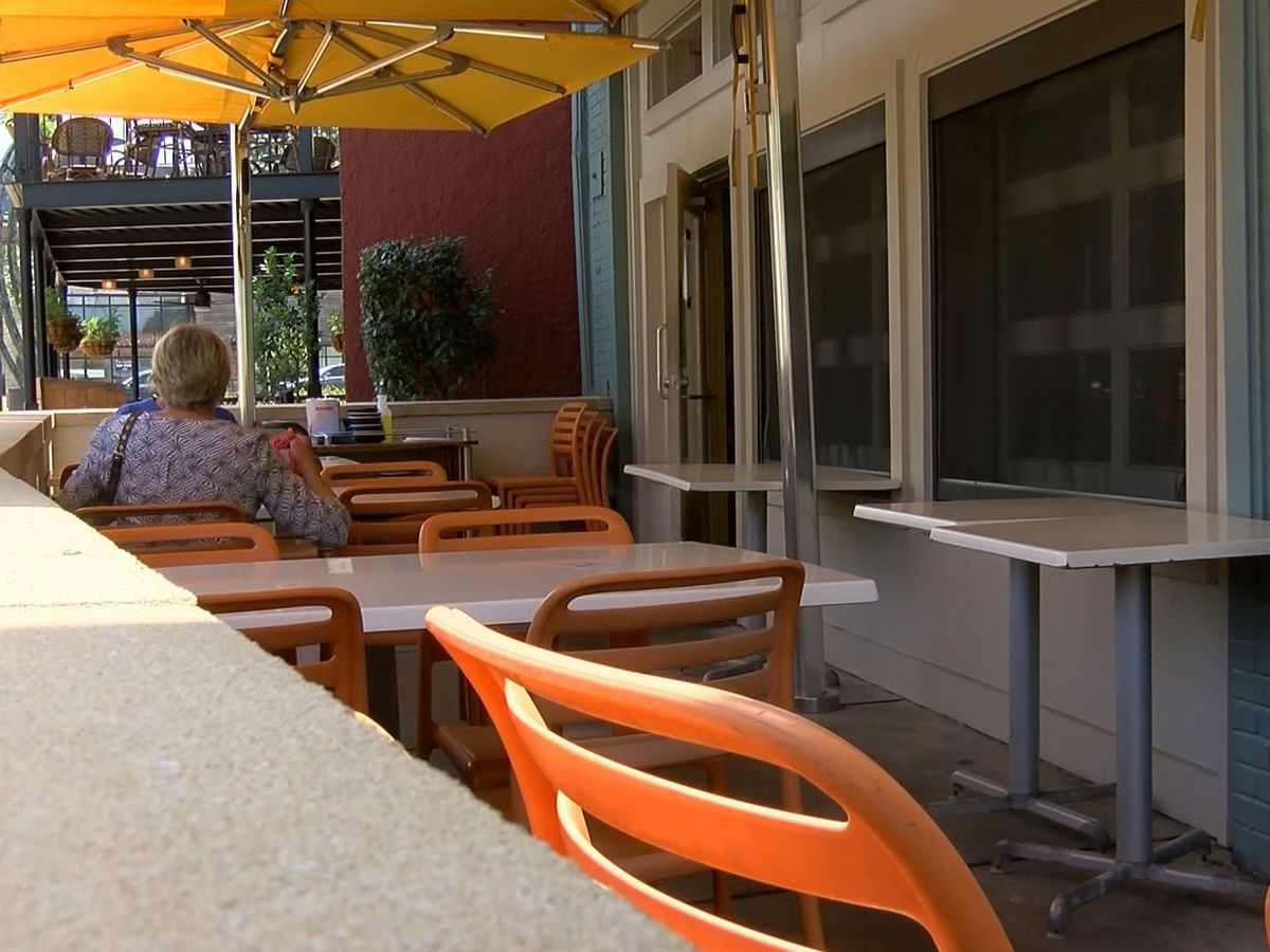 Restaurants applying for outdoor expansion to increase business during pandemic