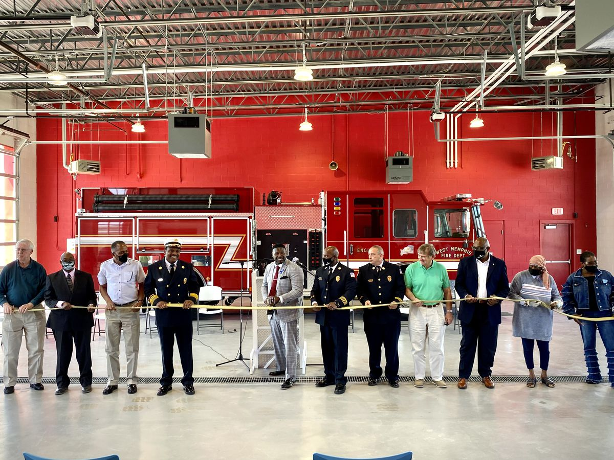 West Memphis opens Fire Station No. 2