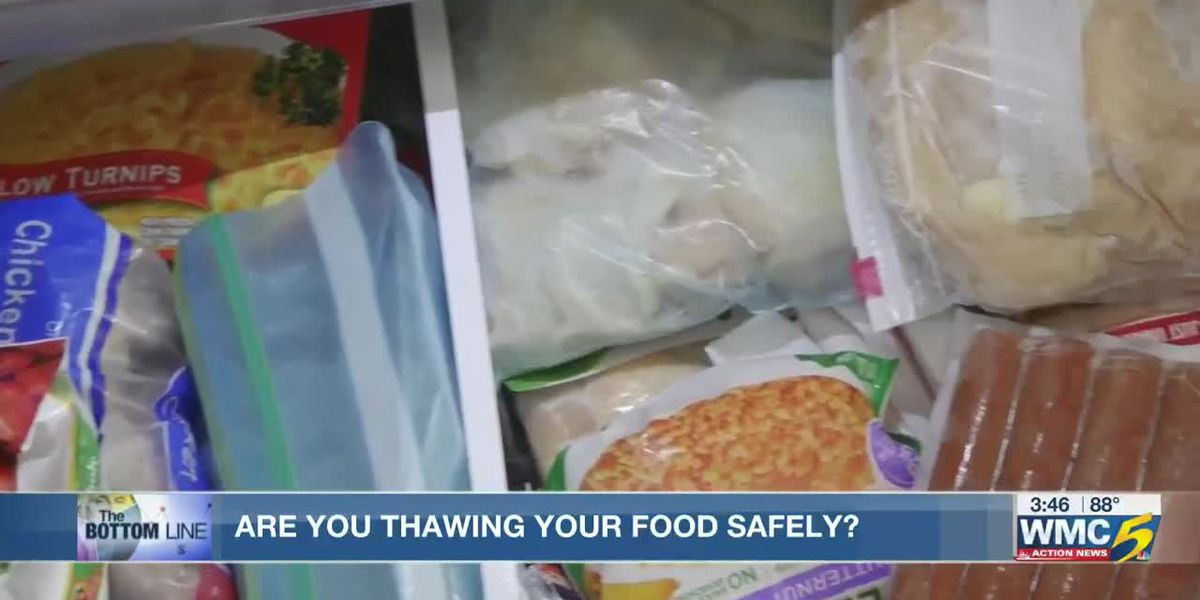 The bottom line: how to safely thaw food