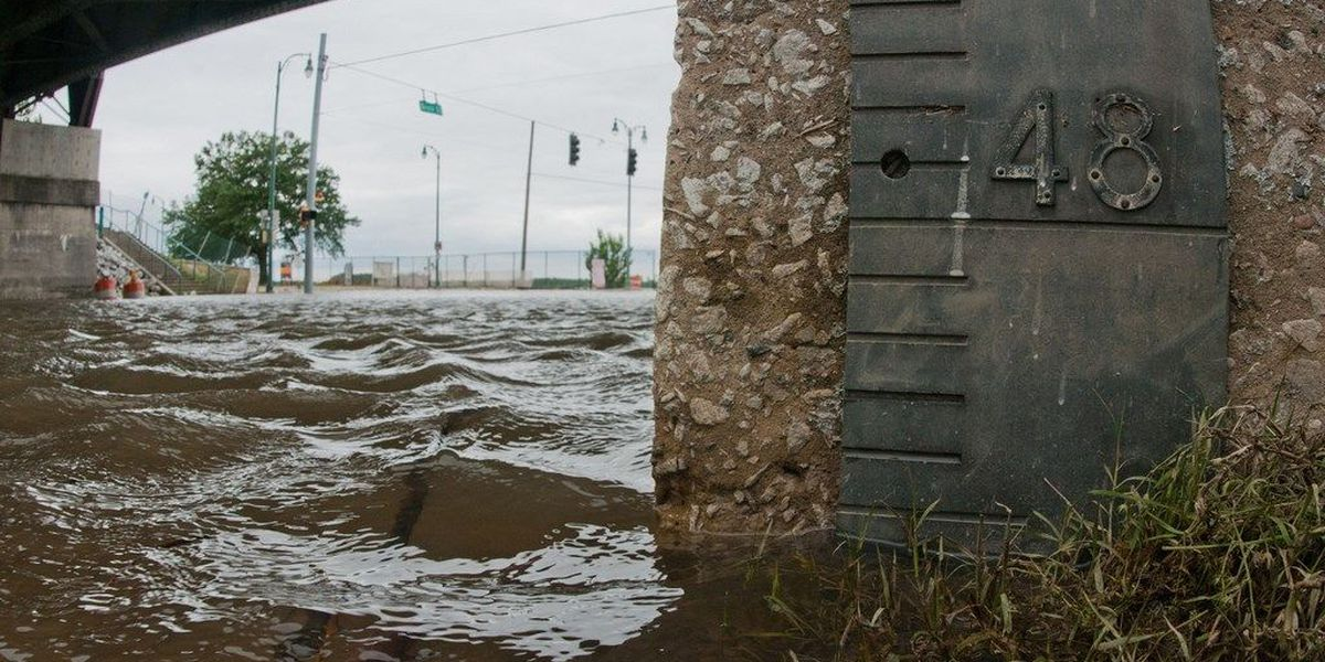 Anniversary of an historic Mississippi River flood