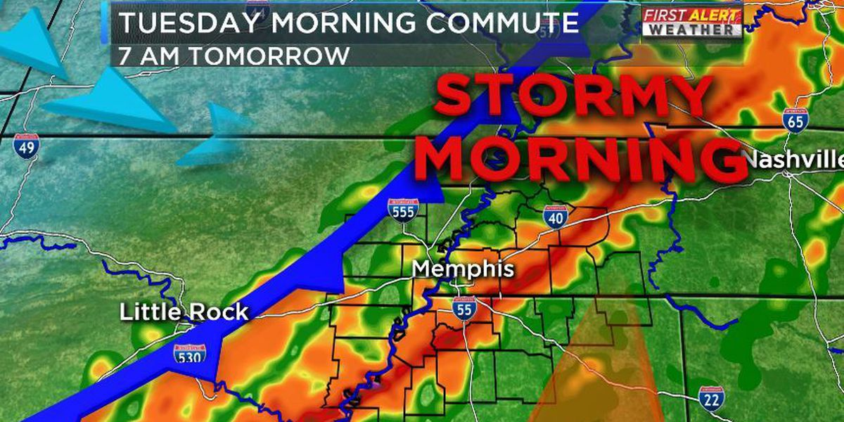 Severe weather threats expire in Mid-South