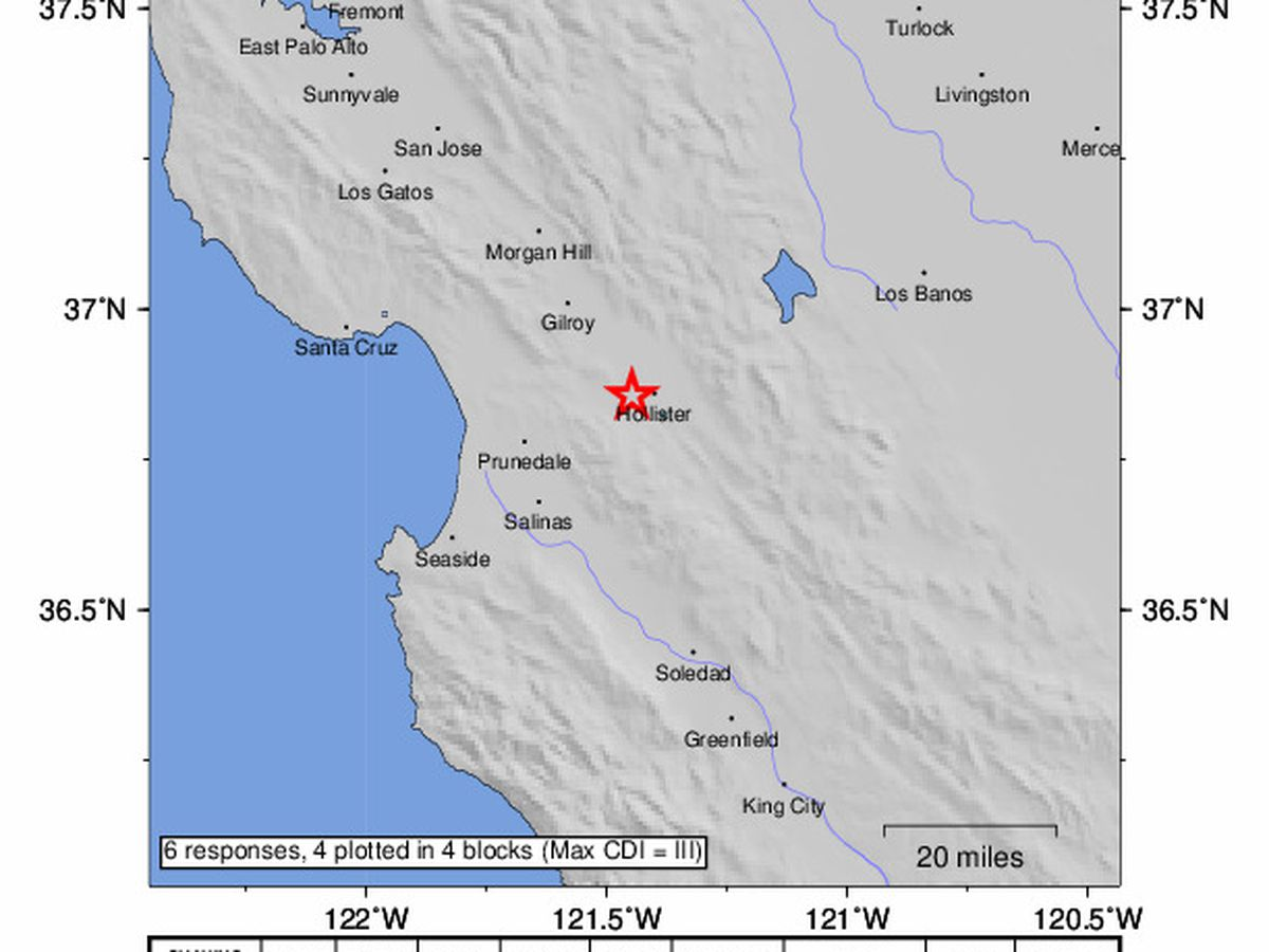 Magnitude 4.5 earthquake rattles southern California
