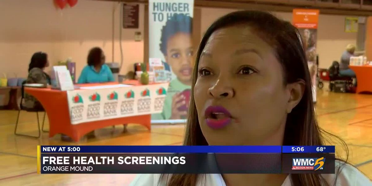 Free health screenings