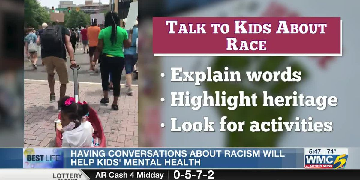 Best Life: Talking to kids about race improves their mental health