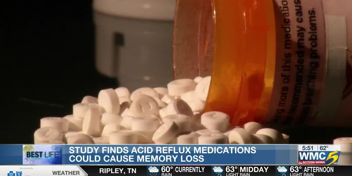 Best Life: Study finds acid reflux mediations could cause memory loss