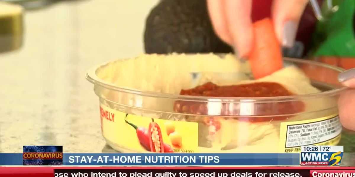 Nutrition expert shares healthy snack and dinner ideas to try at home during COVID-19 pandemic