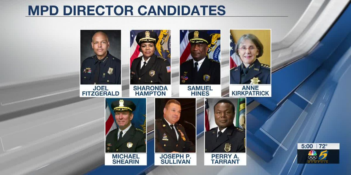 7 candidates under consideration for MPD director