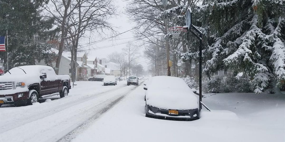 Major winter storm blankets much of New England