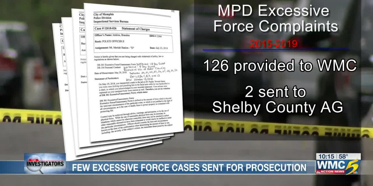 The Investigators: MPD excessive force complaints rarely get more than an internal review