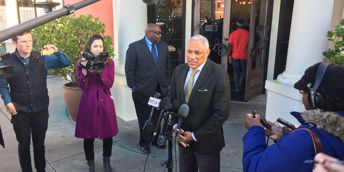 Mike Espy winds down campaign before Tuesday's Senate runoff