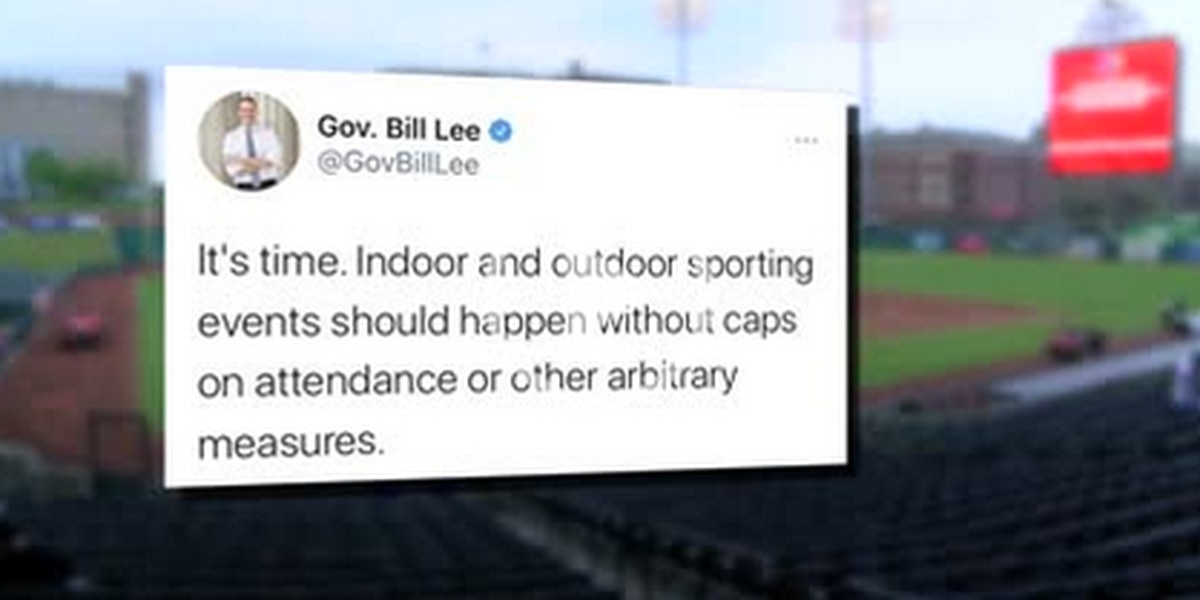 Tennessee governor wants full capacity at sporting events as SCHD looking to end pandemic mandates