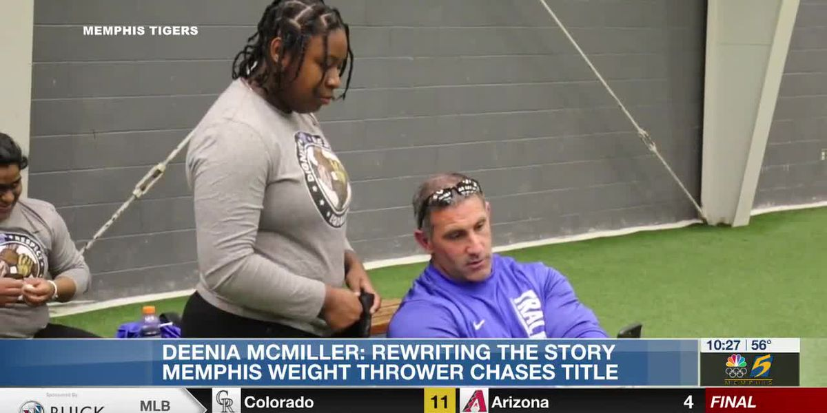 DeeNia McMiller: Rewriting the story of Memphis weight thrower chases title