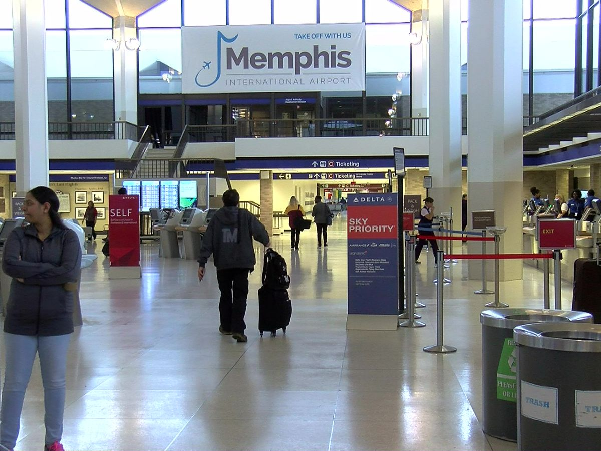 Memphis airport braces for 'significant surge' in Thanksgiving travelers