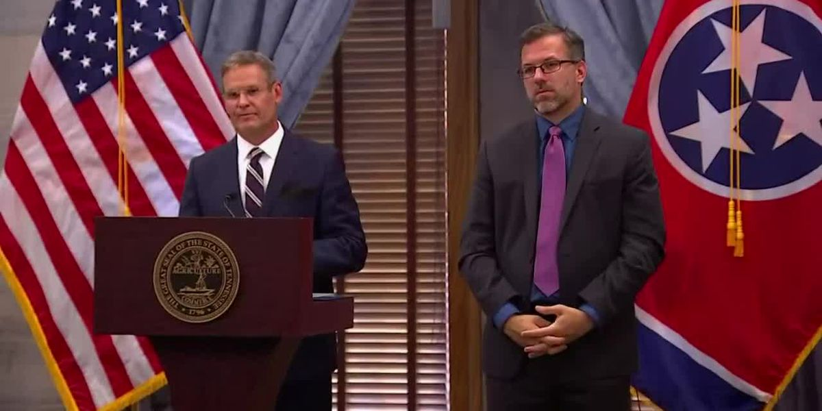 Gov. Bill Lee discusses reopening Tennessee schools during COVID-19 pandemic
