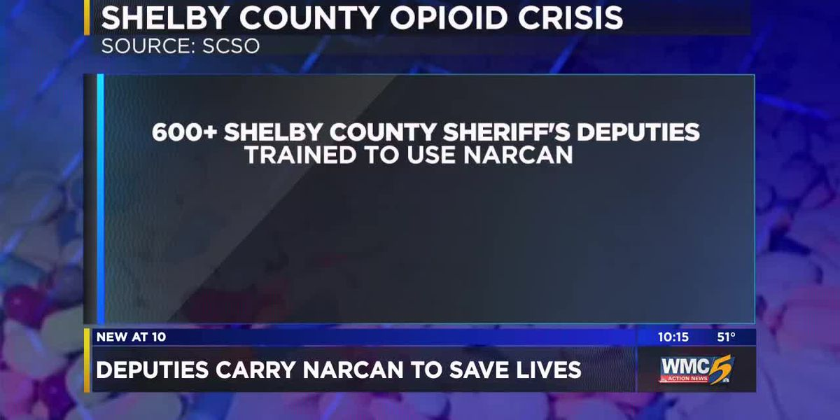 Shelby County deputies now carry Narcan to save overdose victims