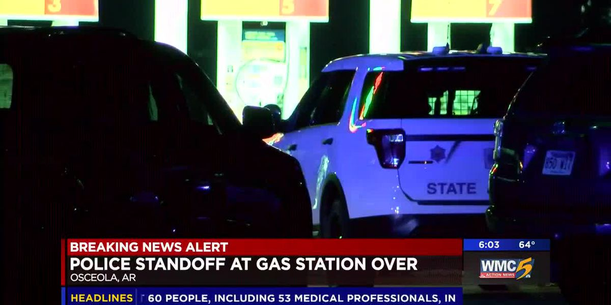 6 hour standoff at gas station ends peacefully