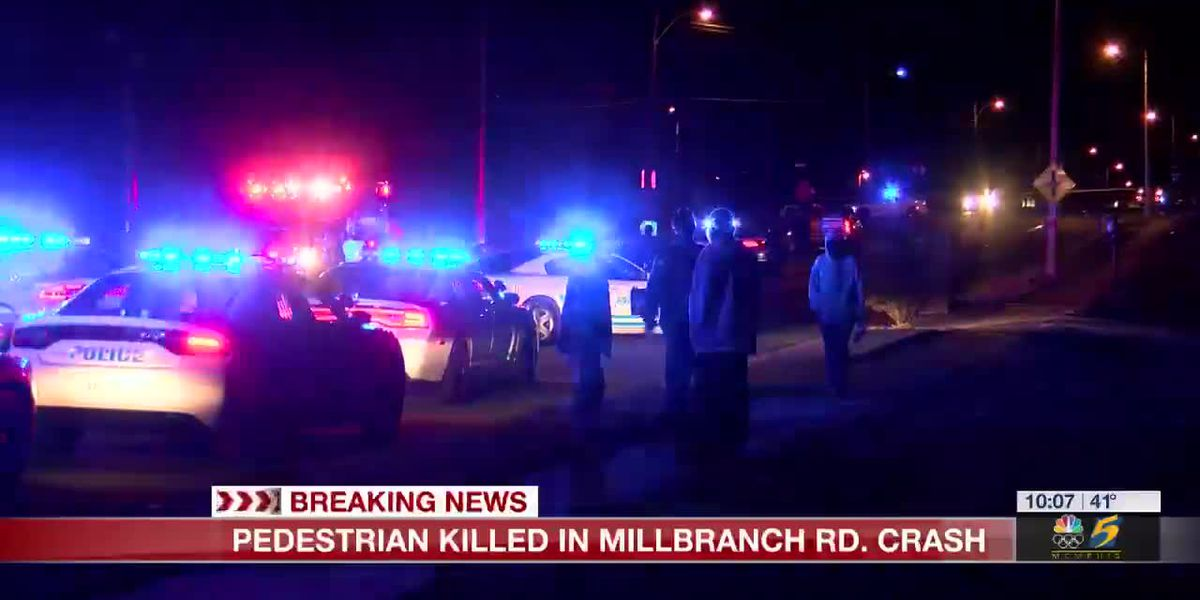 Police: Pedestrian dead after crash on Millbranch Rd.