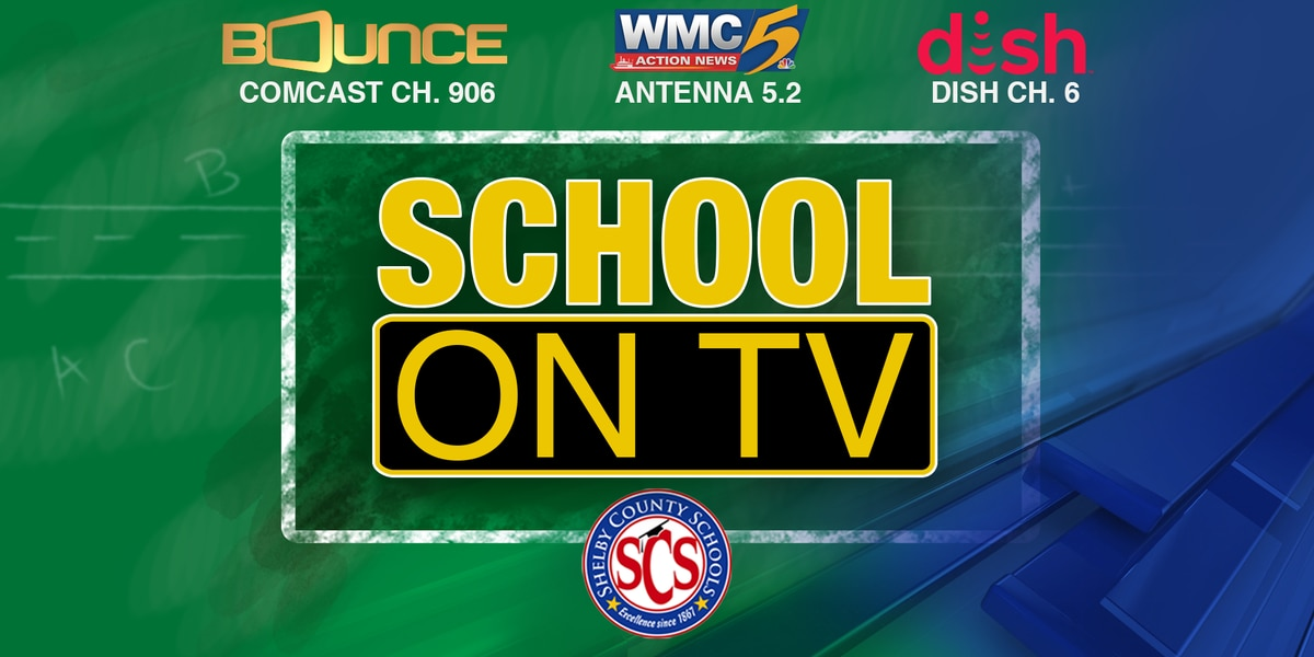 Here's how to watch 'School on TV' classroom lessons from WMC and SCS