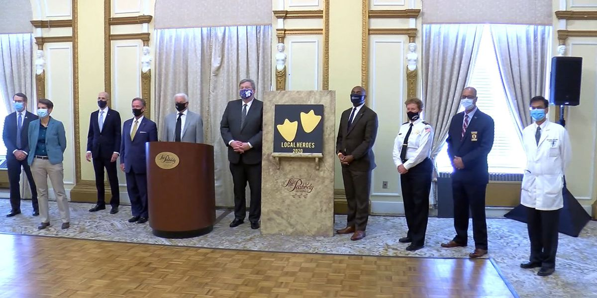 Peabody Hotel honors Mid-South first responders as heroes in fight aginst COVID-19
