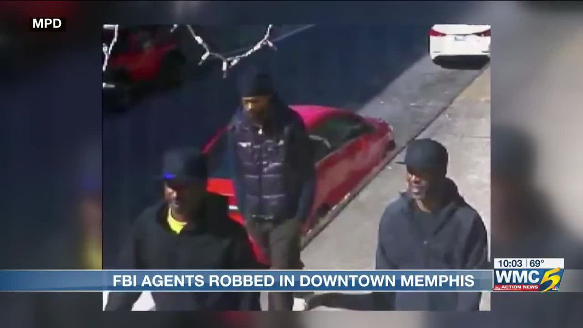 Suspects unknowingly rob two FBI special agents in Downtown Memphis