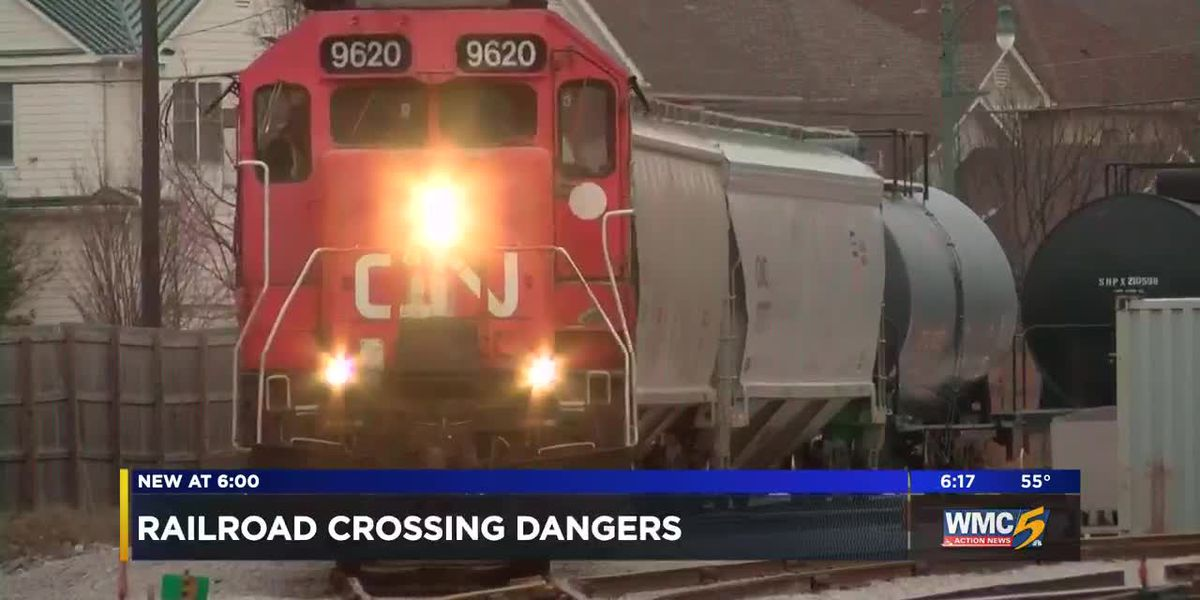 Federal data tracks train collisions in Mid-South