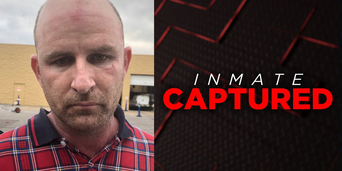 Inmate who escaped while taking out trash captured days later in Memphis