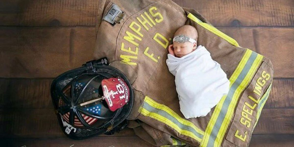 Memphis firefighter Instagrams powerful photo of his daughter