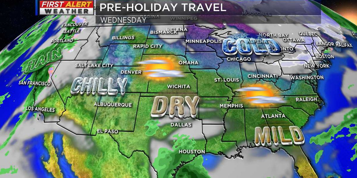 Your First Alert Forecast for holiday travel