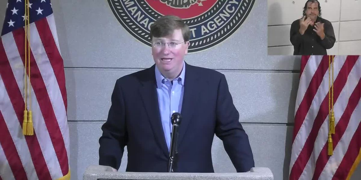 Miss. Governor declares State of Emergency as tropical storms approach