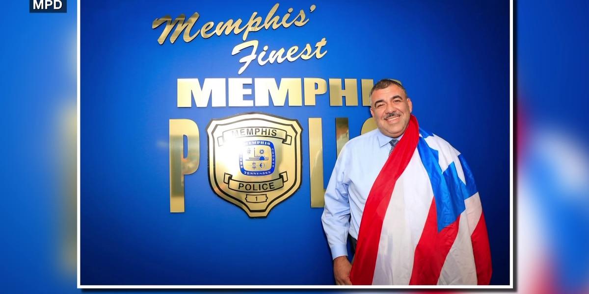Memphis lieutenant attributes his success to his Hispanic heritage
