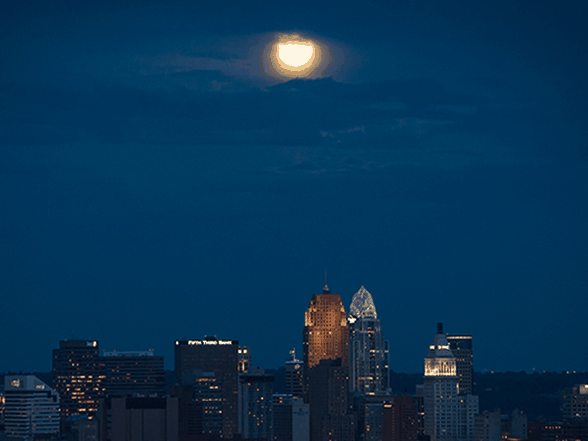 Harvest moon rises this week, blue moon on Halloween
