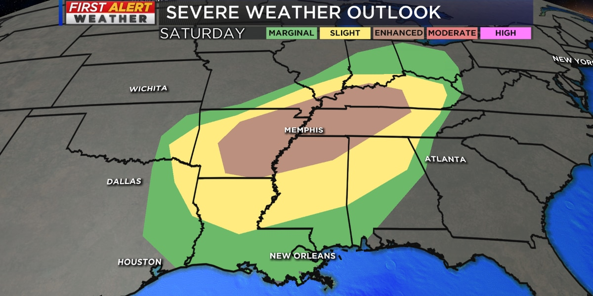 Tracking more rain and a threat for severe storms