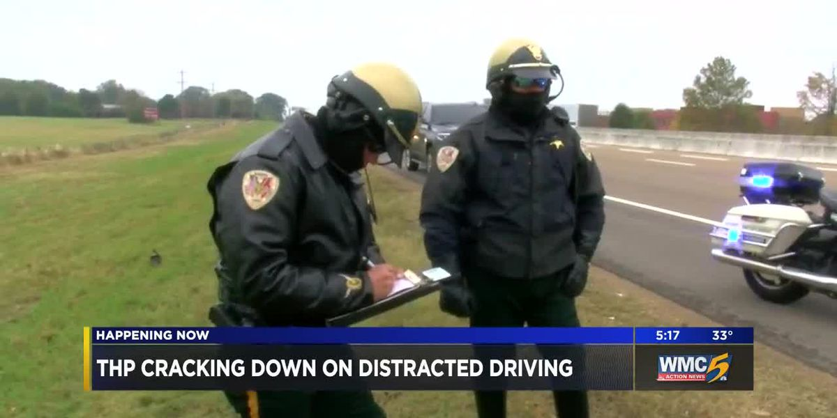 Tennessee Highway Patrol cracks down on distracted driving