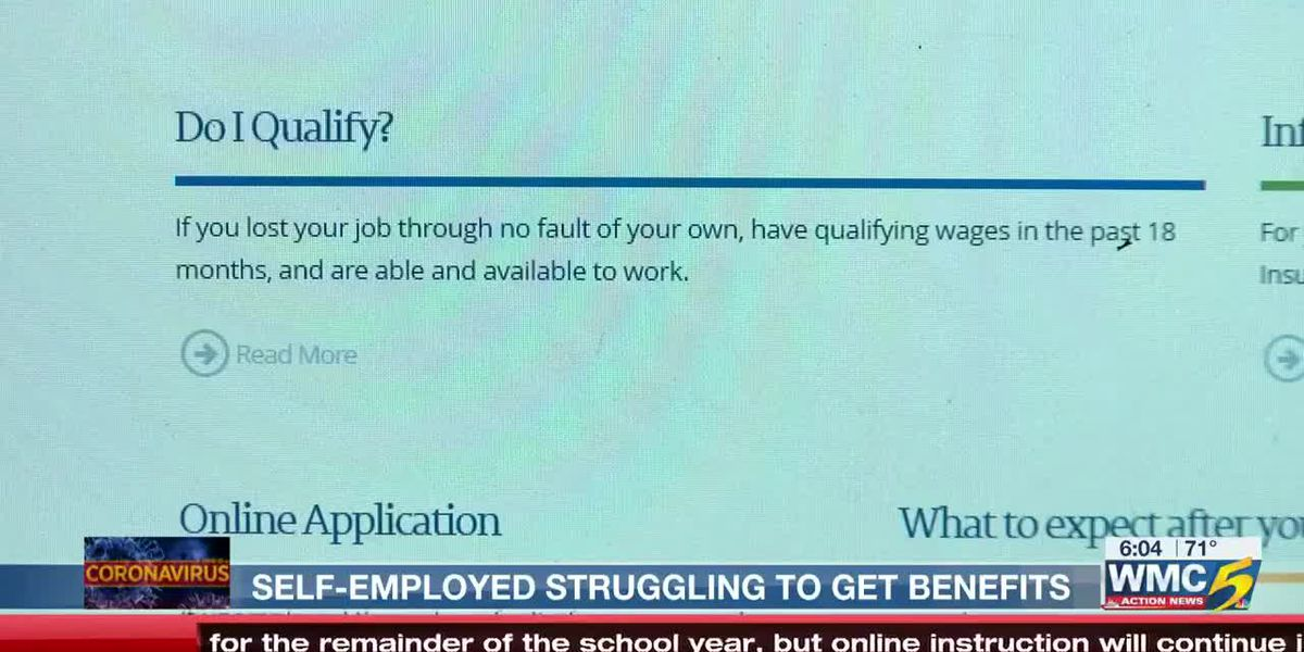 Self-employed struggling to get benefits