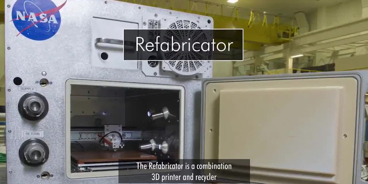 NASA recycles in space: Meet the Refabricator