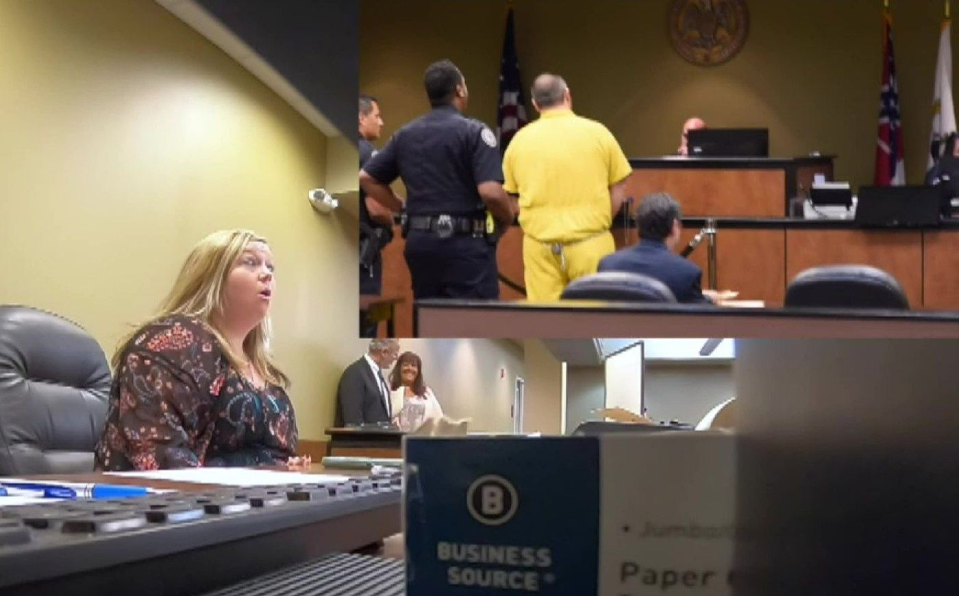 convicted to life of love man enlists courtroom s help to pull off