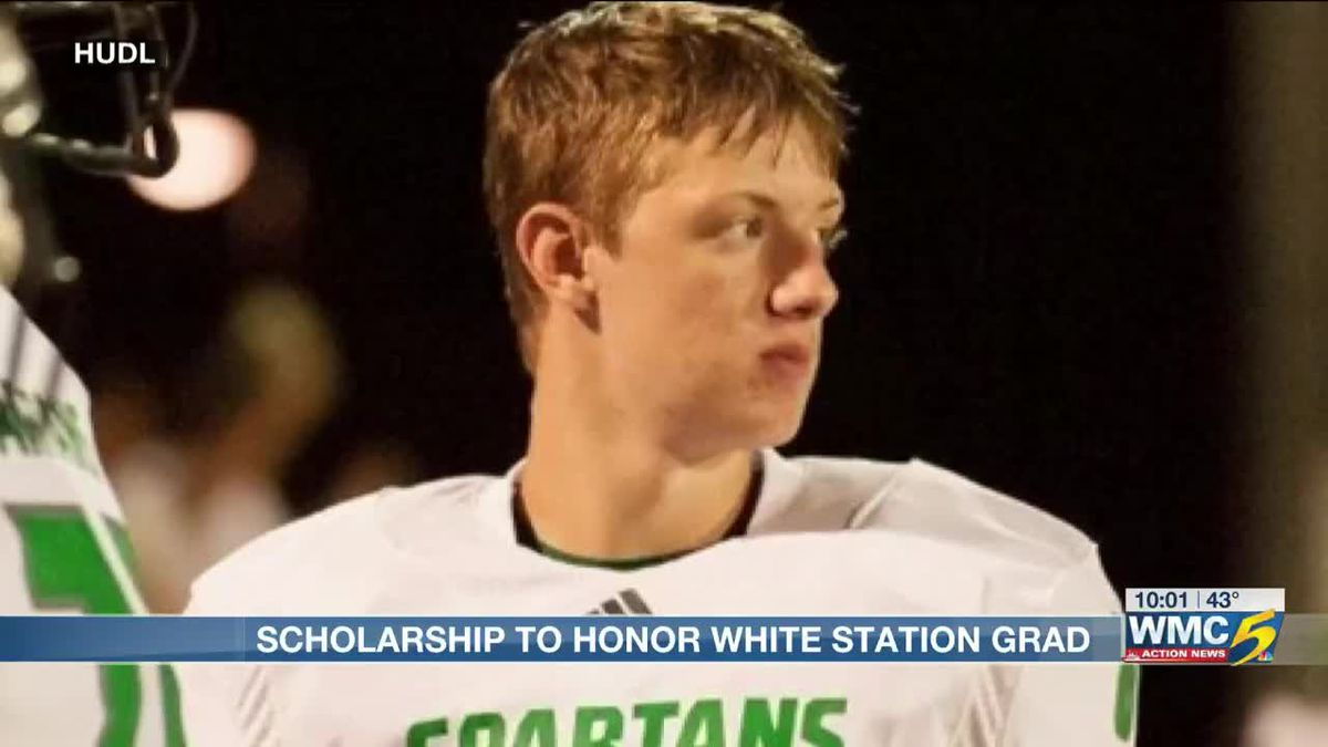 Scholarship awarded in honor of White Station football player killed in catfishing scheme