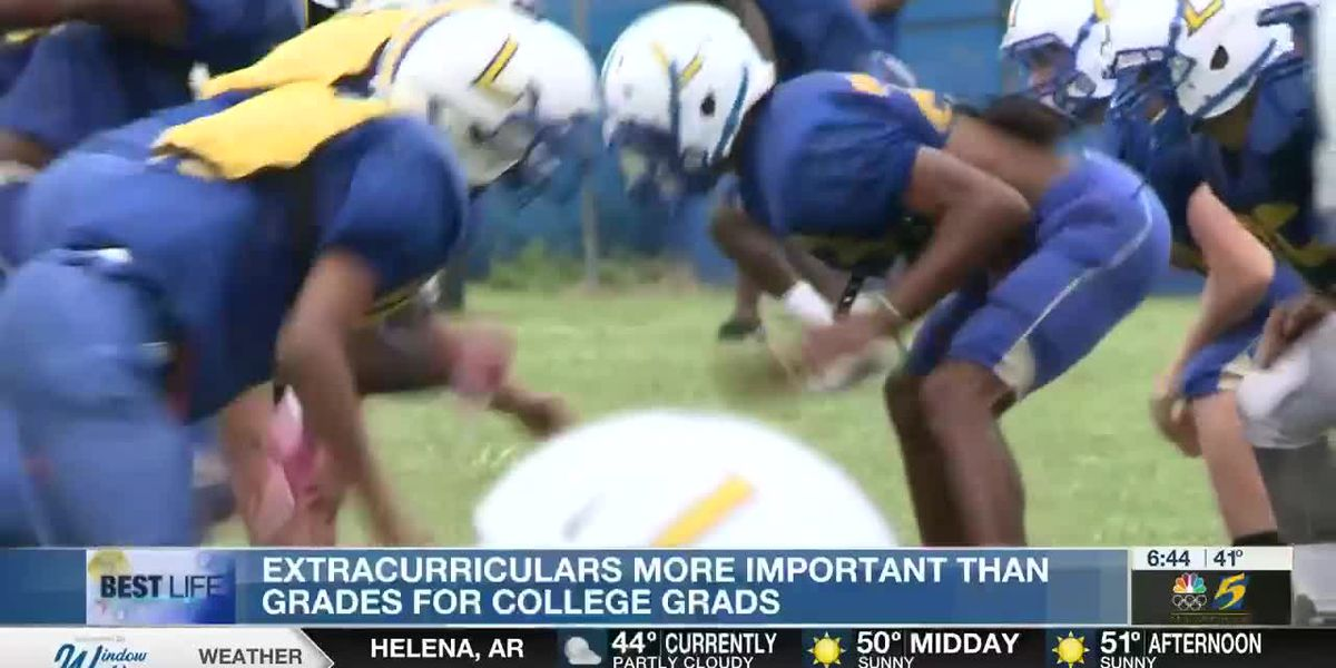 Best Life: Extracurriculars more important than grades for college grads