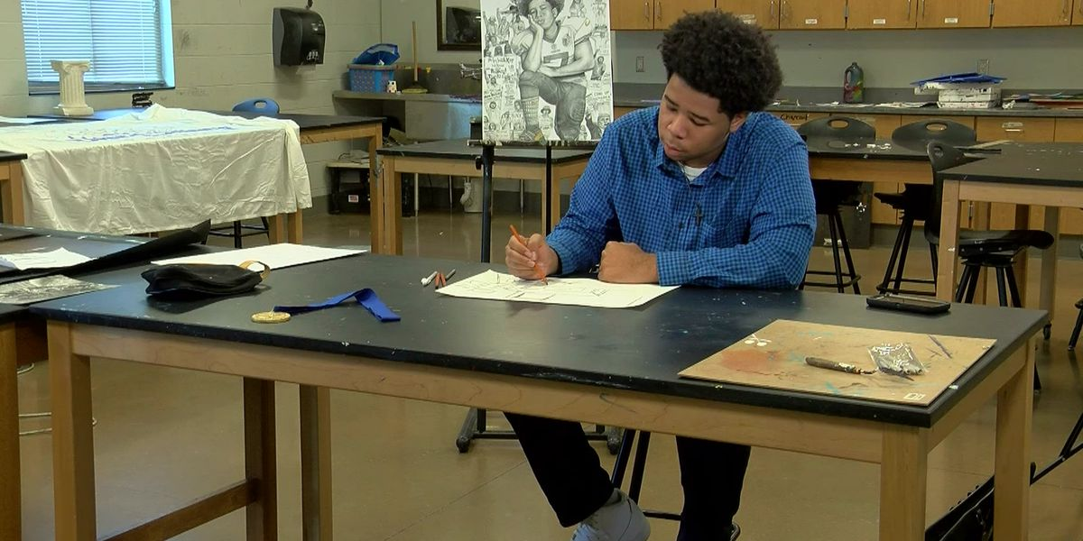 Oxford High senior receives national recognition for artwork